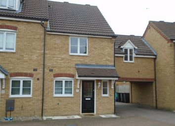 Thumbnail 3 bedroom semi-detached house to rent in Fox Close, Clapham, Bedford