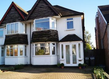 Thumbnail 3 bed semi-detached house to rent in Acheson Road, Hall Green, Birmingham