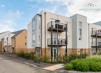 Thumbnail 2 bed flat for sale in Hawker Drive, Addlestone