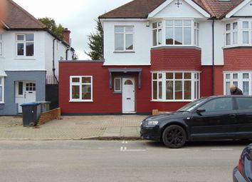 Thumbnail 4 bed semi-detached house to rent in Elmstead Avenue, Wembley
