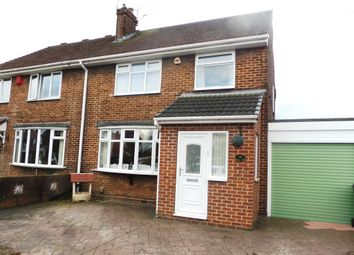 Thumbnail 3 bed semi-detached house for sale in Manor Road, Brinsworth, Rotherham