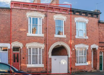 Thumbnail 3 bed terraced house for sale in Montague Road, Clarendon Park, Leicester