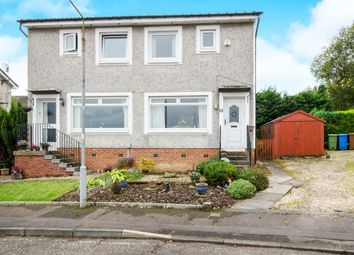 Thumbnail 2 bed semi-detached house for sale in Groveburn Avenue, Thornliebank, Glasgow