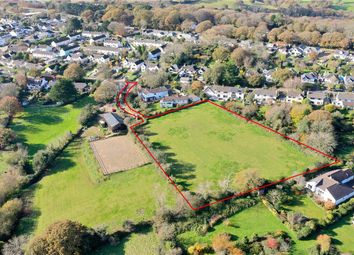 Thumbnail Land for sale in Penhalls Way, Playing Place, Truro