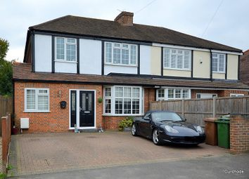 Thumbnail 3 bed semi-detached house for sale in Squires Road, Shepperton