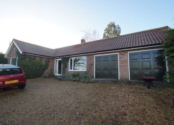 Thumbnail 3 bed detached bungalow for sale in Great Glemham Road, Stratford St. Andrew, Saxmundham