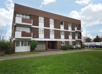Thumbnail 2 bed flat for sale in Annett Close, Shepperton, Surrey