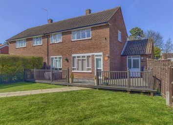 Thumbnail 3 bed semi-detached house for sale in Balsams Close, Hertford