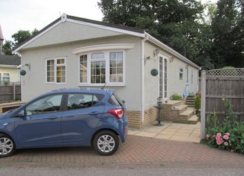 Thumbnail 2 bed mobile/park home for sale in St Johns Park, Theobalds Road, Enfield, Middlesex