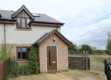 Thumbnail 2 bed end terrace house for sale in Hornbeam Lane, Uppingham, Oakham