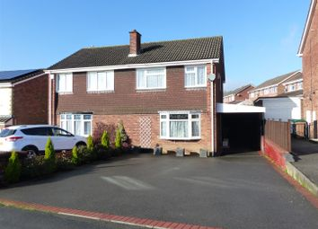 Thumbnail 3 bed semi-detached house for sale in Audens Way, Midway, Swadlincote