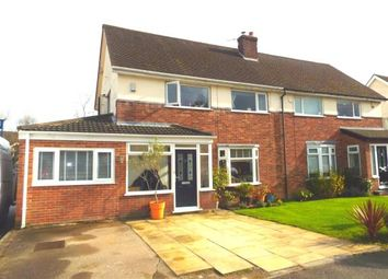 Thumbnail 3 bed semi-detached house for sale in Sephton Avenue, Culcheth, Warrington, Cheshire
