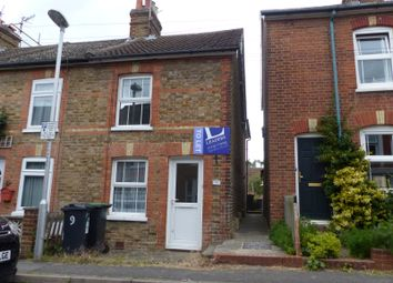 Thumbnail 2 bedroom end terrace house to rent in Fosse Road, Tonbridge