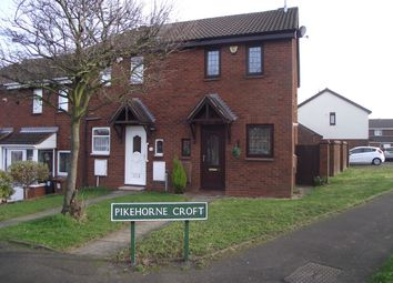 Thumbnail 2 bed end terrace house to rent in Pikehorne Croft, Castle Bromwich, Birmingham