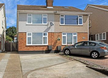 Thumbnail 3 bed semi-detached house for sale in Russell Gardens, Wickford