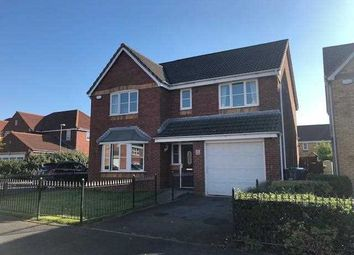 Thumbnail 4 bed detached house for sale in Barn Hey Drive, Farington Moss, Leyland