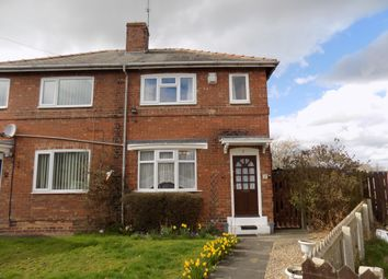 Thumbnail 2 bed semi-detached house to rent in Huxley Grove, Darlington