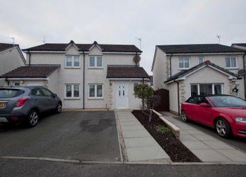 Thumbnail 2 bedroom semi-detached house for sale in 59 Smithfield Meadows, Alloa, Clackmannanshire 1Te, UK