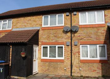 Thumbnail 1 bed terraced house for sale in St Nazaire Close, Egham
