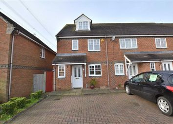 Thumbnail 3 bed end terrace house to rent in Bray Drive, Great Ashby, Stevenage, Herts