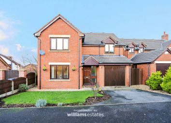 Thumbnail 4 bed detached house for sale in Bryn Teg, Sychdyn, Mold