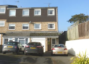 Thumbnail 4 bedroom town house for sale in The Coppings, Hoddesdon