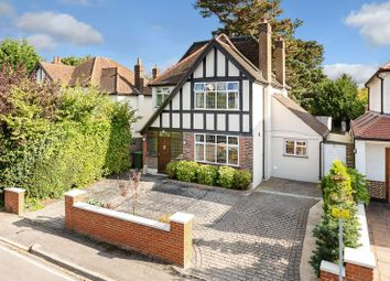 Thumbnail 5 bed detached house for sale in Conaways Close, Ewell, Epsom