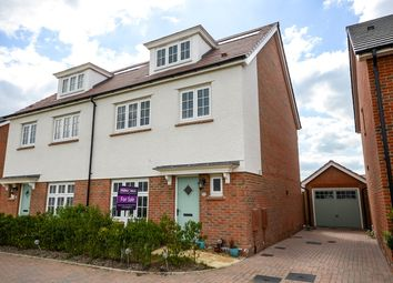 Thumbnail 4 bed town house for sale in Gemini Road, Reading