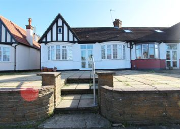 Thumbnail 2 bed semi-detached bungalow for sale in Crossway, Bush Hill Park, Enfield