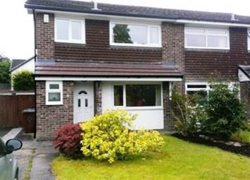 Thumbnail 3 bed semi-detached house to rent in Woodend, Bramhall, Stockport