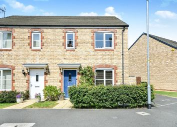 Thumbnail 3 bedroom semi-detached house for sale in Fitzgerold Avenue, Highworth, Swindon