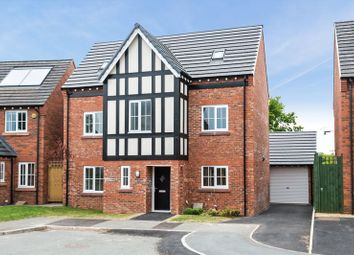 Thumbnail 5 bed detached house for sale in Cherry Tree Close, Charnock Richard, Chorley