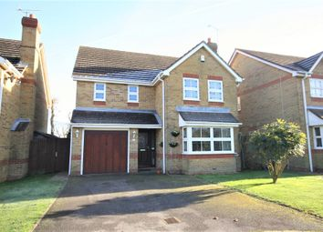 Thumbnail 4 bed detached house for sale in Gibson Close, Whiteley, Fareham