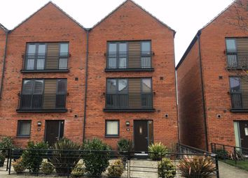 Thumbnail 3 bedroom town house for sale in Yr Hafan, Marina, Swansea