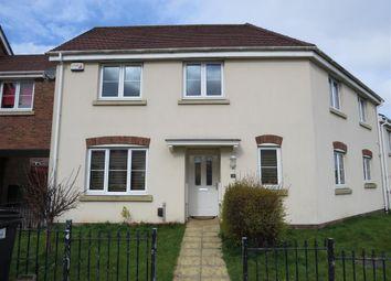 Thumbnail 4 bed terraced house for sale in Lon Yr Efail, Caerau, Cardiff