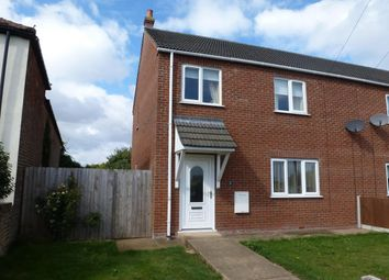 Thumbnail 3 bedroom end terrace house to rent in School Road, St. Johns Fen End, Wisbech