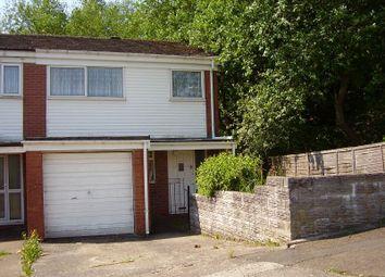 Thumbnail 3 bed end terrace house for sale in Heatherslade, Morriston, Swansea.