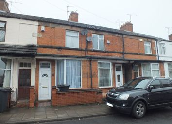 Thumbnail 2 bedroom terraced house for sale in Montrose Road, Wigston, Leicester