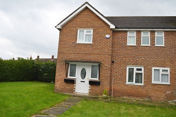 Thumbnail 3 bed town house to rent in Lower Green, Woodchurch, Wirral