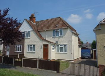 Thumbnail 3 bed semi-detached house for sale in The Avenue, Aldershot