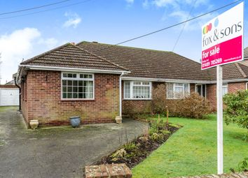 Thumbnail 4 bedroom semi-detached bungalow for sale in Hobb Lane, Hedge End, Southampton