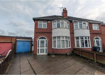 Thumbnail 3 bed semi-detached house for sale in Danehurst Avenue, Leicester