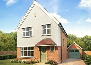 Thumbnail 3 bed detached house for sale in Kingsbourne, Waterlode, Nantwich, Cheshire