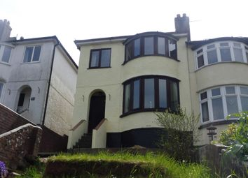 Thumbnail 3 bedroom end terrace house for sale in Berry Avenue, Paignton