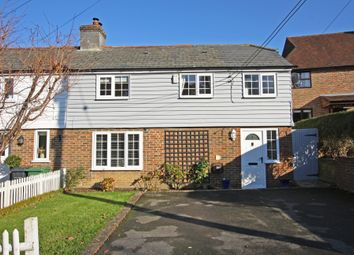 Thumbnail 3 bed end terrace house for sale in Silverhill, Hurst Green, Etchingham
