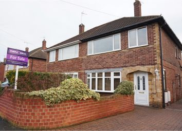 Thumbnail 3 bed semi-detached house for sale in St. Christophers Crescent, Doncaster