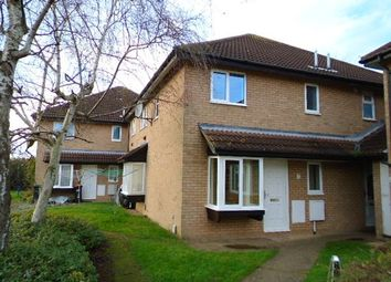 Thumbnail 1 bedroom terraced house to rent in Odell Close, Kempston, Bedford