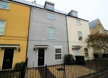Thumbnail 3 bed town house for sale in Redhouse Way, Swindon