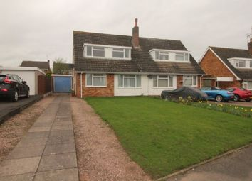 Thumbnail 3 bed semi-detached house for sale in Meadow Drive, Haughton, Stafford