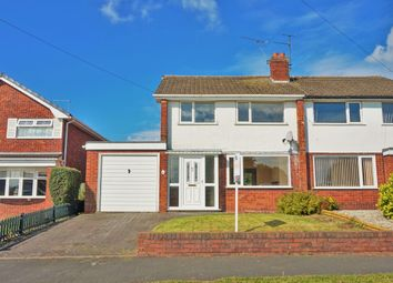Thumbnail 3 bed semi-detached house for sale in Newland Avenue, Stafford